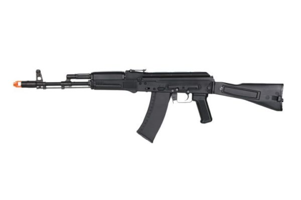 AKG-74M KWA Gas Airsoft Rifle with Orange Tip Left Side