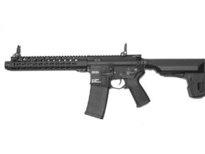 VM4 RONIN 10 SBR KWA Electric Airsoft Rifle with Adjustable FPS Modular Upper Left Side