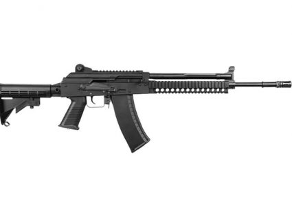 Right Side of AKG-KCR KWA Gas Airsoft Rifle