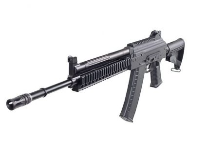 Top View of AKG-KCR KWA Gas Airsoft Rifle