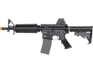 LM4C PTR KWA Gas Airsoft Rifle Left Side with Orange Tip