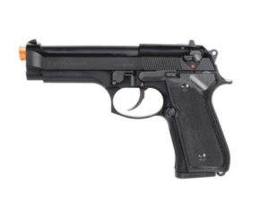 M9 PTP KWA Gas Airsoft Pistol Left Side with Orange Tip