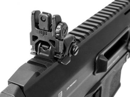 PTS Masada KWA Gas Airsoft Rifle in Black Close Up