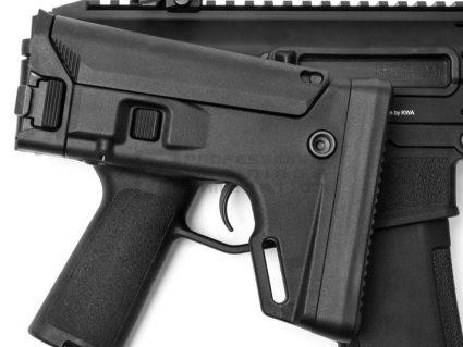 PTS Masada KWA Gas Airsoft Rifle in Black Trigger