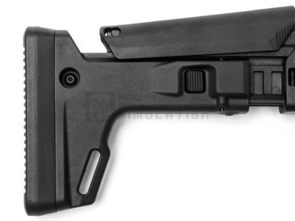 PTS Masada KWA Gas Airsoft Rifle in Black Grip