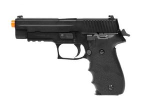 M226-LE KWA Gas Airsoft Pistol Left Side with Orange Tip