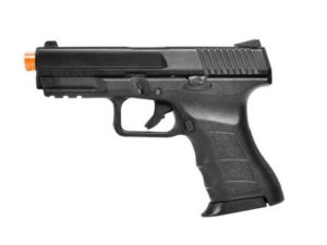ATP-C KWA Gas Airsoft Pistol with Orange Tip Left Side
