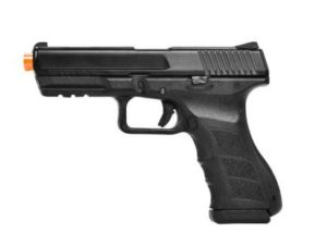 ATP-LE KWA Gas Airsoft Pistol with Orange Tip Left Side