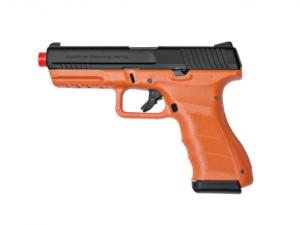 Blaze Orange ATP-LE2 KWA Gas Airsoft Pistol Left Side