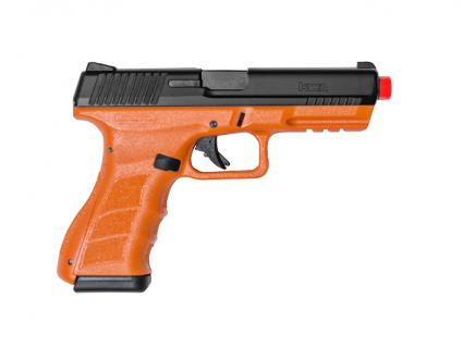Blaze Orange ATP-LE2 KWA Gas Airsoft Pistol Right Side