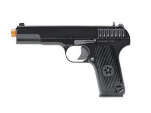 TT-33 KWA Gas Airsoft Pistol Left Side with Orange Tip