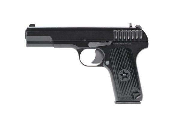 TT-33 KWA Gas Airsoft Pistol Left Side Full View